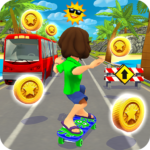 Skater Rush – Endless Skateboard Game APK (MOD, Unlimited Money)  for android 1.4.1