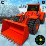 Snow Road Crane Excavator Simulator APK (MOD, Unlimited Money)  for android