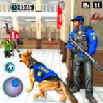 US Police Dog Bank Robbery Crime Shooting Game APK (MOD, Unlimited Money)  for android