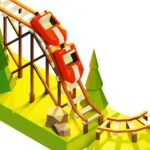 Coaster Builder Roller Coaster 3D Puzzle Game APK MOD Unlimited Money for android