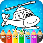 Coloring pages for children : transport APK (MOD, Unlimited Money)  for android 1.2.1