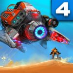 Defense Legend 4 Sci-Fi Tower defense APK MOD Unlimited Money for android