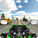 Highway Real Traffic Bike Racer APK MOD Unlimited Money for android