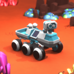 Space Rover idle planet mining tycoon simulator APK MOD Unlimited Money for android