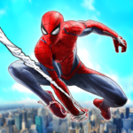 Spider Rope Superhero War Game – Crime City Battle APK MOD Unlimited Money for android