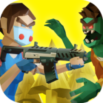Two Guys Zombies 3D Online game with friends APK MOD Unlimited Money for android