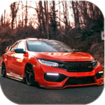 Civic Car Parking And Driving APK (MOD, Unlimited Money)  for android 0.4
