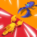 Clash of Bugs Epic Popular Bug Animal Art Games APK MOD Unlimited Money for android