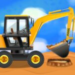 Construction Vehicles Trucks – Games for Kids APK MOD Unlimited Money for android