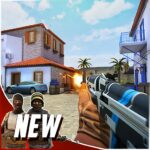 Hazmob FPS Online multiplayer fps shooting game APK MOD Unlimited Money for android