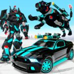 Panther Robot Transform Games APK (MOD, Unlimited Money)  for android 19.8.0