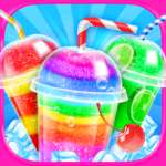 Rainbow Frozen Slushy Truck Ice Candy Slush Maker APK MOD Unlimited Money for android