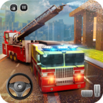 Rescue Fire Truck Simulator 911 City Rescue APK MOD Unlimited Money for android