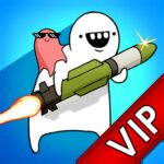 VIPMissile Dude RPG Offline tap tap hero APK MOD Unlimited Money for android
