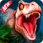Best Dinosaur Shooting Games Dino Hunt Shelter APK MOD Unlimited Money for android