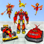 Dragon Fly Robot Car Transform APK MOD Unlimited Money for android