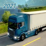 Euro Truck Simulator 2021 – New Truck Driving Game APK (MOD, Unlimited Money) 1.0 for android