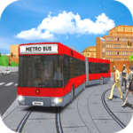 Metro Euro Bus Game 21City Bus Drive Simulator 21 APK MOD Unlimited Money for android